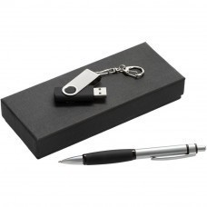 Набор Notes: ручка и флешка 8 Гб, черный