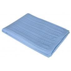Плед Comfort, голубой