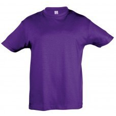 Футболка детская REGENT KIDS 150, темно-фиолетовая