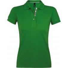Рубашка поло женская PORTLAND WOMEN 200 зеленая