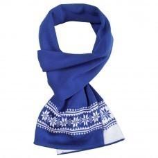 Шарф «Скандик», синий (василек)