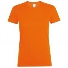 Футболка женская REGENT WOMEN, оранжевая