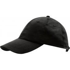 Бейсболка METEOR, черная