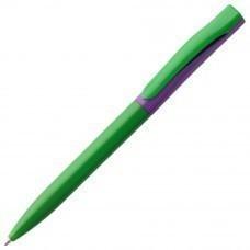 Ручка шариковая Pin Special, зелено-фиолетовая