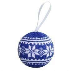 Шар новогодний «Скандик», синий (василек)