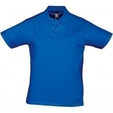 Рубашка поло мужская Prescott men 170, ярко-синяя