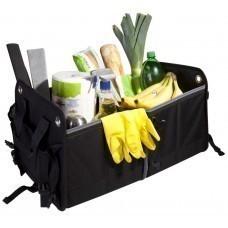 Складной органайзер в багажник Daily, черный с серым