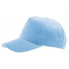 Бейсболка Buzz, голубая