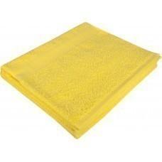 Полотенце махровое Large, желтое