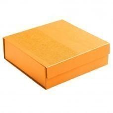 Коробка Joy Small раскладная на магнитах, оранжевая