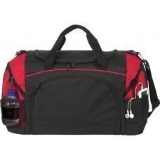 Спортивная сумка Atchison Essential, черная с красным