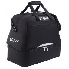 Спортивная сумка Calcio с отделением для обуви, черная