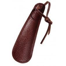 Ложка для обуви, коричневая