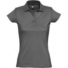 Рубашка поло женская Prescott women 170, темно-серая