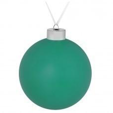 Елочный шар Colour, 10 см, зеленый