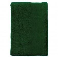 Полотенце махровое Island Medium, темно-зеленое