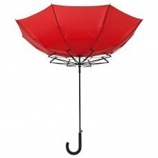Зонт-трость Unit Wind, красный