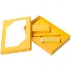 Набор Energy: аккумулятор и ручка, ver.2, желтый