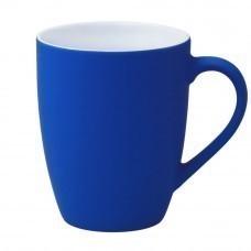 Кружка Good Morning c прорезиненным покрытием, синяя