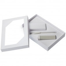 Набор Energy: аккумулятор и ручка, ver.2, белый