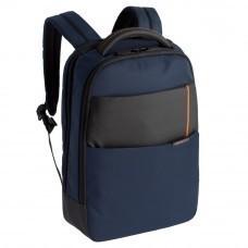 Рюкзак для ноутбука Qibyte Laptop Backpack, синий с черными вставками