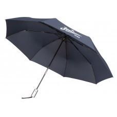 Зонт складной «Зенит», темно-синий