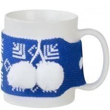 Манжета на кружку «Теплушка», синяя (василек)