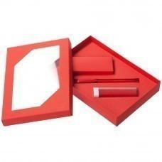 Набор Energy: аккумулятор и ручка, ver.2, красный