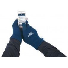 Перчатки для сенсорных экранов «Зенит», темно-синие