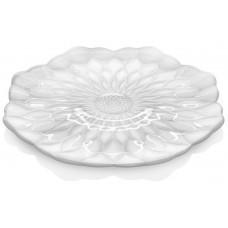 Блюдо White Lotus, жемчужное