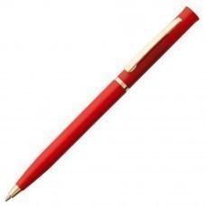 Ручка шариковая Euro Gold, красная