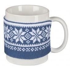 Манжета на кружку «Скандик», синяя (индиго)